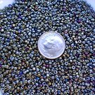 Size 11 iris beads moss 15 grams