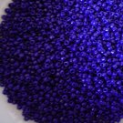 Size 8 seed beads Opaque Cobalt blue15 grams