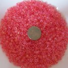 Size 6 seed beads Transparent Luster 25 Grams Peach