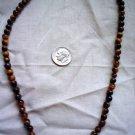 Gemstone stone beadsTigereye round 5 to 6 mm 15 inch strand