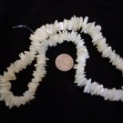 Mother of Pearl tumbled chip beads 16 inch strand
