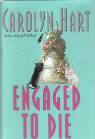 Engaged to Die: A Death on Demand Mystery [LARGE PRINT] [Hardcover]  by Hart...