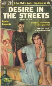 Desire In The Streets Renato Cannavale 1955 Popular Library Paperback