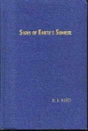 SIGNS OF EARTH'S SUNRISE Reed 1952 HC