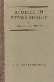 Studies In Stewardship-Ralph Cushman-1918 HC