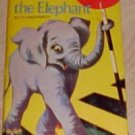 Ernest The Elephant Ainsworth 1969 Happiness Story Book