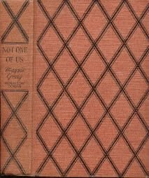 NOT ONE OF US Maisie Greig 1st edition 1939 Hardcover