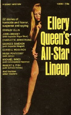 Ellery Queen's all-star lineup; 22 stories from Ellery Queen's mystery magazine
