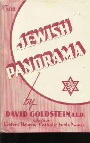 JEWISH PANORAMA-David Goldstein-HC/DJ