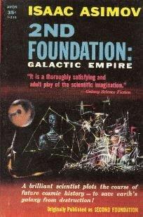 2nd Foundation:  GALACTIC EMPIRE Isaac Asimov 1953 Avon PB