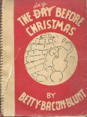 The Daze Before Christmas Betty Bacon Blunt 1940
