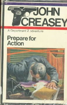 PREPARE FOR ACTION-Dept Z Adventure-John Creasey-HC/DJ