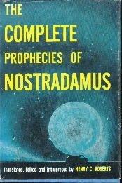 COMP PROPHECIES OF NOSTRADAMUS  by Roberts, Henry C.