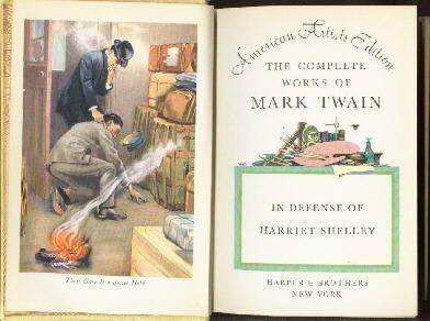 In Defense of Harriet Shelley Mark Twain Hardcover