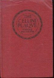 The Cellini Plaque Harold McGrath 1925 HC