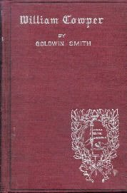 Cowper (English Men of Letters) [Hardcover]  by Smith, Goldwin