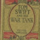 Tom Swift and His War Tank [Hardcover]  by Appleton, Victor, II