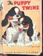 THE PUPPY TWINS-Helen Wing -Tip Top Elf Book 1959