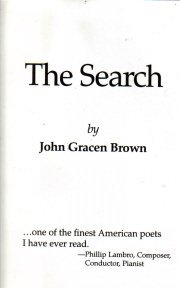 The Search John Gracen Brown 1994 HC/DJ