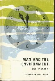 Man and the environment  by Jackson, Wes