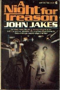 A NIGHT FOR TREASON John Jakes Charter PB