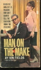MAN ON THE MAKE Vin Fields ADULT NOVEL Paperback