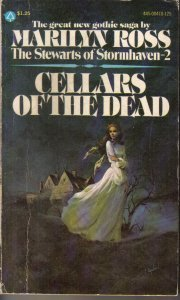 Cellars of the Dead (Five Star Standard Print Romance) [Hardcover]  by Ross...