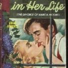 The Men In Her Life Edith Roberts 1948 Bantam Paperback