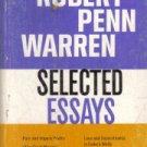 Robert Penn Warren Selected Essays