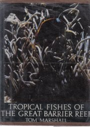 Tropical Fishes of the Great Barrier Reef Tom Marshall 1966 HC DJ