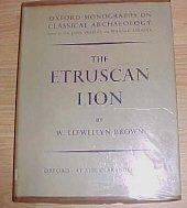 The Etruscan Lion W. Llewellyn Brown HC DJ 1960