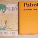 Patrol Philip Macdonald 1928 HC DJ 1st First Edition