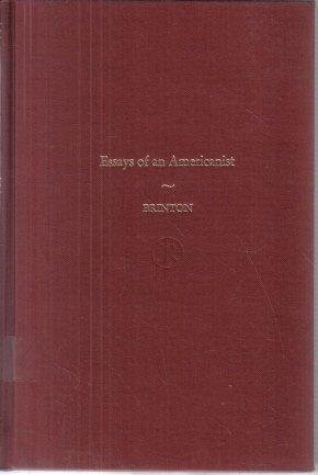 Essays of An Americanist Daniel G. Brinton 1970 HC