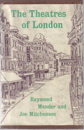 The Theatres of London Raymond Mander Joe Mitchenson 1961 HC