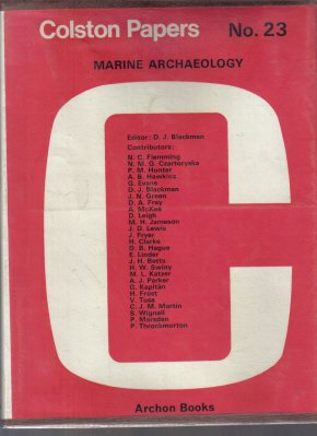 Colston Papers Marine Archaeology No. 23