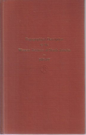 Topographical Description of Western Territory of North America Imlay 1968 HC