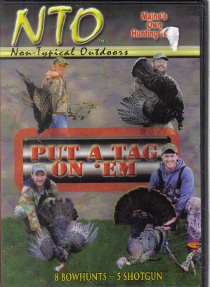 Put A Tag On 'Em Turkey Hunting in Maine DVD