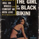 The Girl in the Black Bikini W.E. Butterworth Vintage pulp paperback