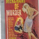 The Merchant of Murder Spencer Dean 1960 Pocket PB