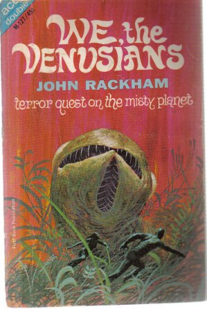 We The Venusians John Rackman and The Thought of Water Fred Saberhagen 1965 Ace PB