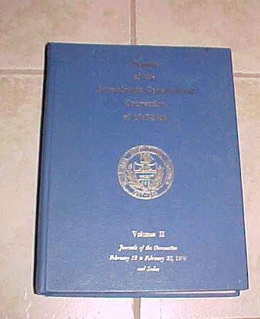 Debates of the Pennsylvania Constitutional Convention of 1967-1968 Volume II
