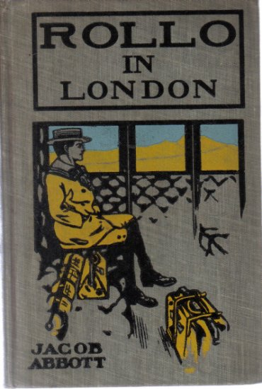 Rollo In London Jacob Abbott Illustrated HC