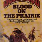Blood on the Prairie Sundance  John Benteen paperback