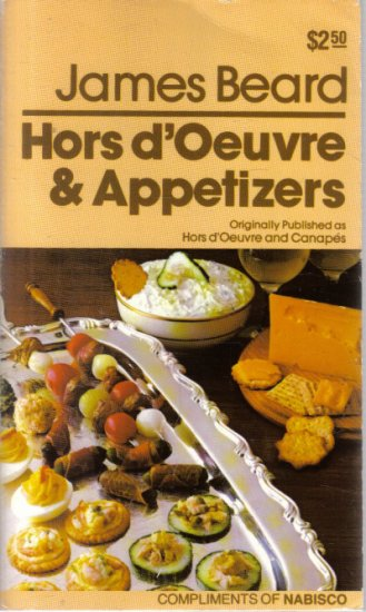 Hors d'Oeuvre & Appetizers James Beard
