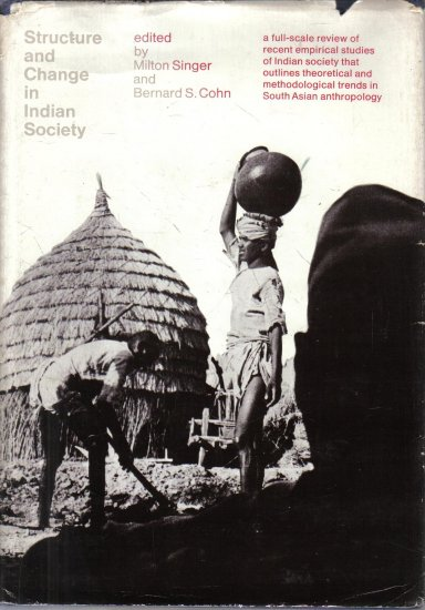 Structure and Change in Indian Society 1968 HC DJ