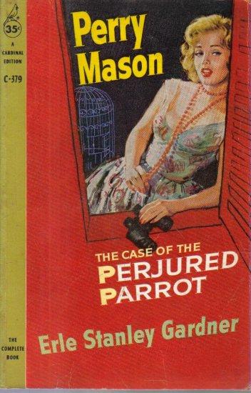 The Case of the Perjured Parrot Erle Stanley Gardner 1959 paperback