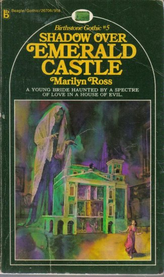 Shadow over Emerald Castle Marilyn Ross Gothic Romance