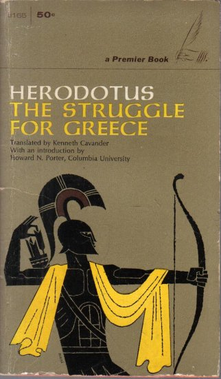 Herodotus The Struggle For Greece