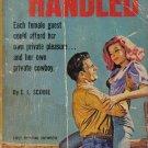 Man Handled E.L. Scobie 1963 Paperback