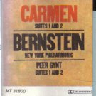 Carmen Suites 1 and 2 Peer Gynt  audio cassette)